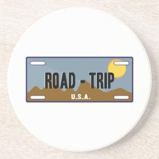 Road Trip Beverage Coasters