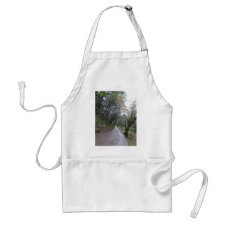 Road trip forest jungle standard apron