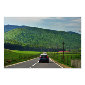 Road trip photo print