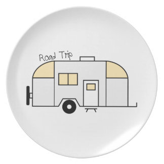 Road Trip Party Plate