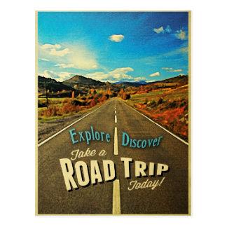 Road Trip Postcards