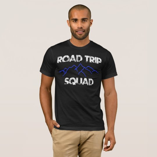 Road Trip Squad Men's Basic American T-Shirt