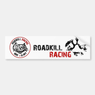 Roadkill Racing Bumper Sticker