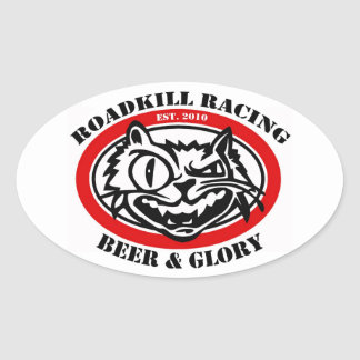 Roadkill Racing Stickers