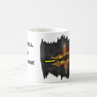 Roadkill the Raccoon mug
