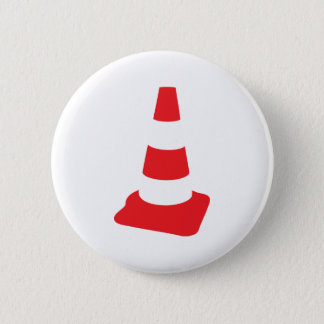 roadmarker traffic cone roadwork 6 cm round badge