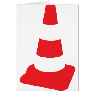 roadmarker traffic cone roadwork card