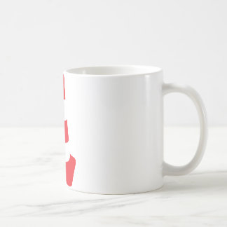 roadmarker traffic cone roadwork coffee mug