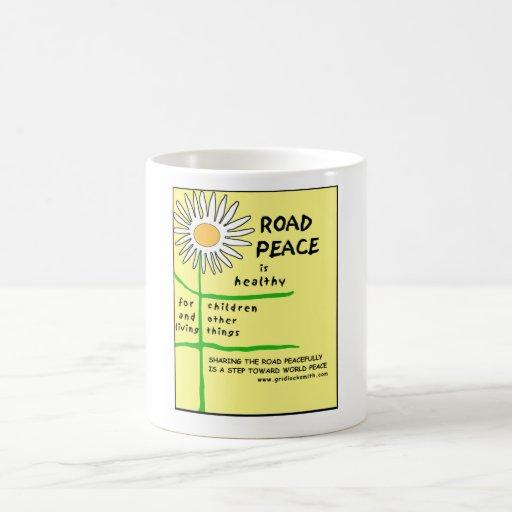 RoadPeace-healthy-mug Basic White Mug