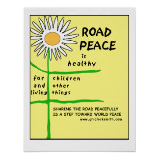 RoadPeace-healthy Poster