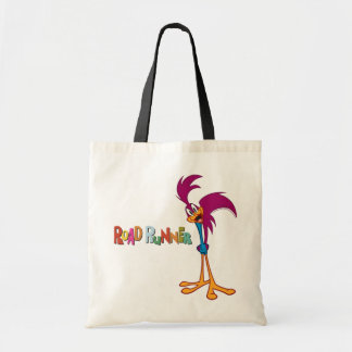 Roadrunner Head Tilted Tote Bag