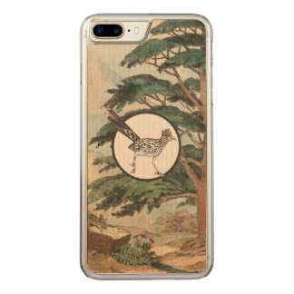 Roadrunner In Natural Habitat Illustration Carved iPhone 8 Plus/7 Plus Case