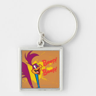 Roadrunner Side Profile Key Ring