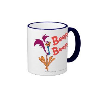Roadrunner Side Profile Ringer Mug