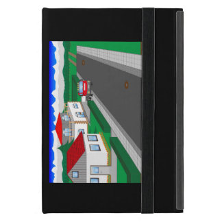 Roads and building of houses iPad mini cases