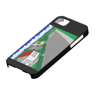 Roads and building of houses iPhone 5 cases