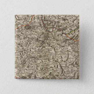 Roads of France 15 Cm Square Badge