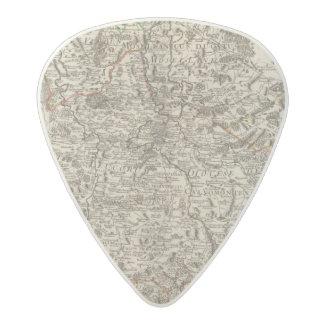Roads of France Acetal Guitar Pick