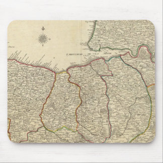 Roads of France Mouse Pad