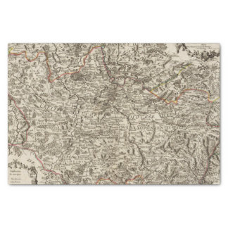 Roads of France Tissue Paper