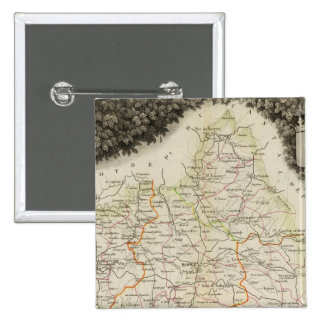 Roads, Towns, Cities 15 Cm Square Badge