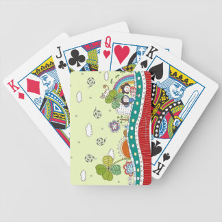 Roadside Bicycle Playing Cards