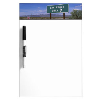 Roadside sign showing direction, California Dry Erase Board