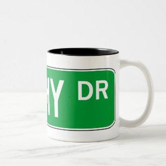 Roadsign Shimmy Mugs