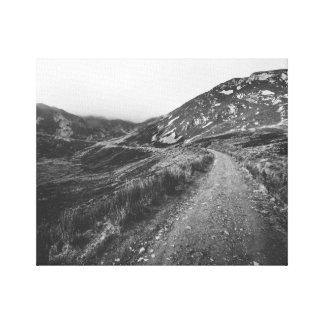 Roadtrip in Black and White photo print