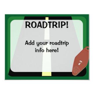 Roadtrip Time 11 Cm X 14 Cm Invitation Card