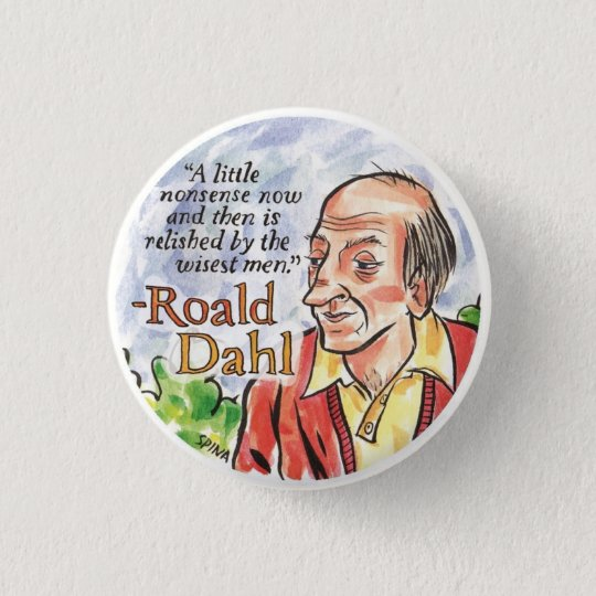 Roald Dahl Button