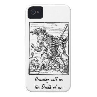 Roaming will be the Death of me case Blackberry Bold Covers