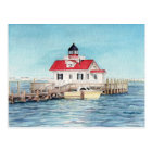 Roanoke Island Lighthouse Postcard
