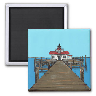 Roanoke Marshes Lighthouse- Magnet
