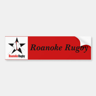 Roanoke Rugby Bumper Sticker