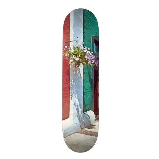 Roanoke VA - Doors and Hanging Baskets Skate Board