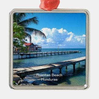 Roantan Beach, Honduras Christmas Ornament