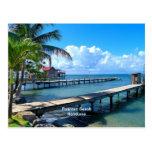 Roantan Beach, Honduras Postcard
