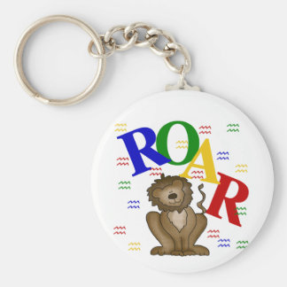 Roar Lion T-shirts and Gifts Keychains