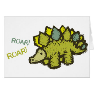 Roar! Roar! Greeting Card