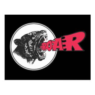 ROAR! - Roaring Tiger Postcard