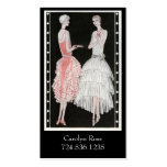 Roaring 20s Fashion Pack Of Standard Business Cards