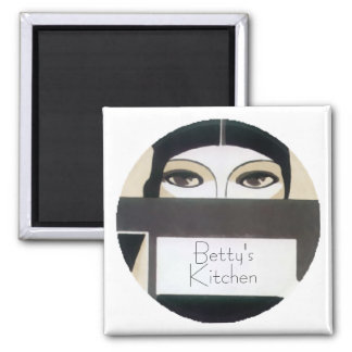 Roaring 20s Gal Personalized Magnet
