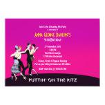 Roaring 20's Jazz Party Theme Invitation