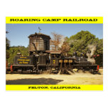 Roaring Camp Railroad Post Card