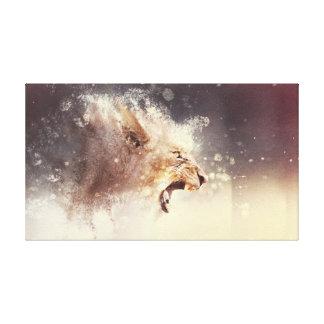 Roaring Creativity Canvas Canvas Prints