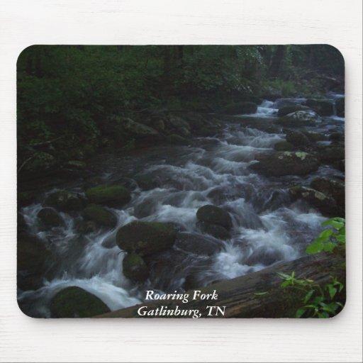 Roaring Fork - Gatlinburg, TN Mousepads