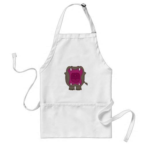 Roaring Hippo Apron