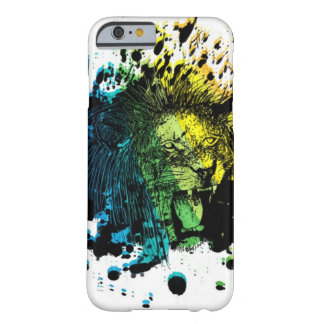 Roaring Lion and Rainbow Abstract Barely There iPhone 6 Case