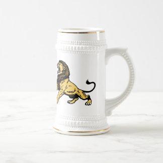 roaring lion beer steins